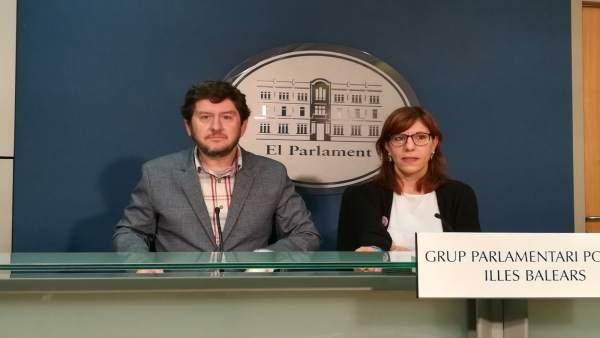 Alberto Jarabo y Laura Camargo