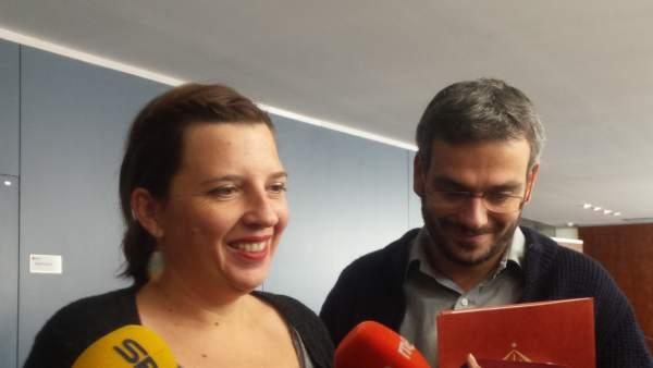 La concejal Laia Ortiz (BComú).