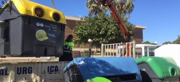 Cambio de contenedores en Palma