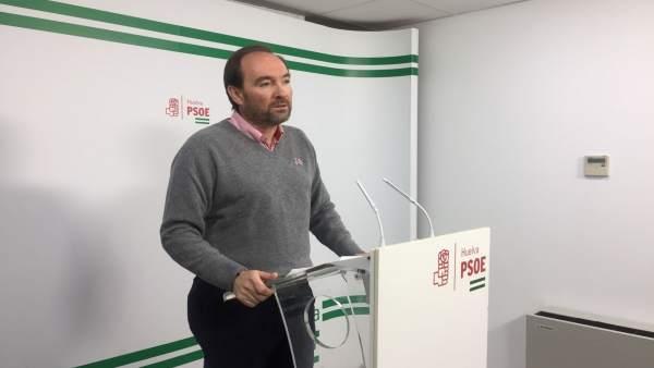 El secretario de Organización del PSOE de Huelva, José Fernández.
