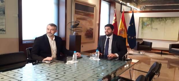 Reunión de López Miras con Urralburu