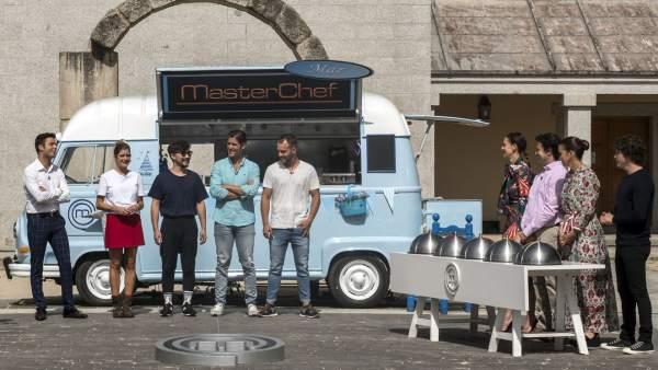 Los aspirantes de 'MasterChef Celebrity' tendrán que cocinar en 'foodtrucks'.
