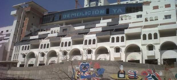 El hotel de El Algarrobico