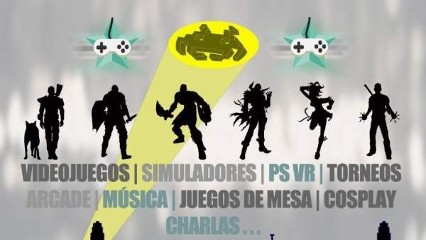 Cartel del Video Game Festival Buñol