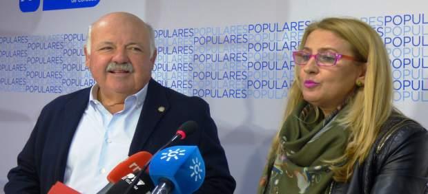 Jesús Aguirre e Isabel Cabezas
