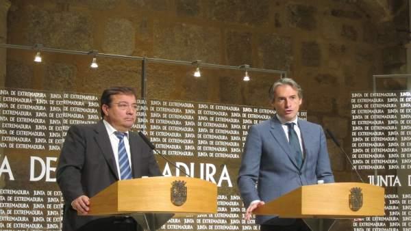 Guillermo Fernández Vara e Íñigo de la Serna