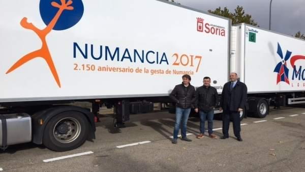 Rótulo de Numancia 2017 de la empresa De Pedro-Molinero
