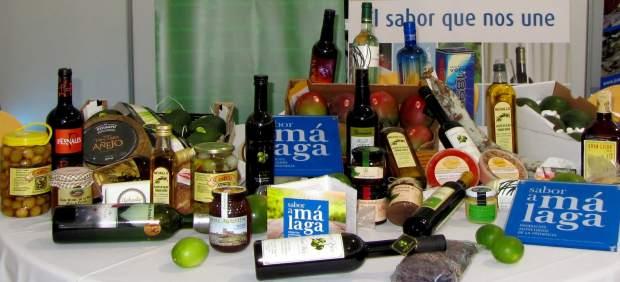 Productos sabor a Málaga