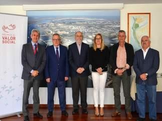 Jurado de los Premios al Valor Social de Cepsa en Huelva.