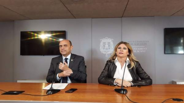 Gabriel Echávarri y Eva Montesinos, imagen de archivo