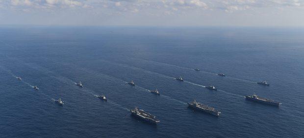 EE UU suspende sus maniobras militares de agosto en la península de Corea