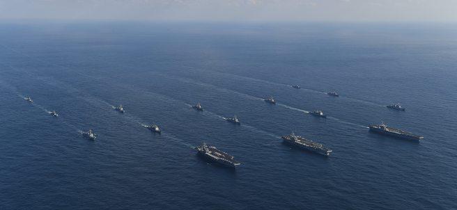 Maniobras navales