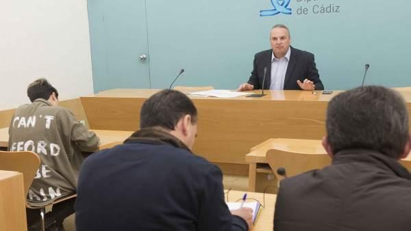 Ruiz Boix, vicepreidente de la Diputación de Cádiz