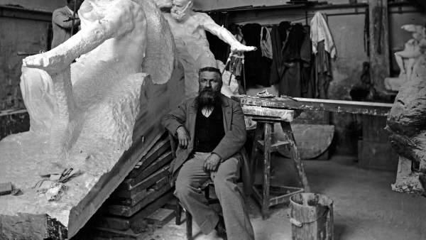El escultor francés Auguste Rodin.