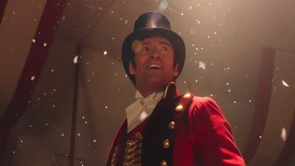 Hugh Jackman en El Gran Showman