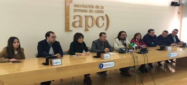 Alcaldes y concejales de IU en Cádiz