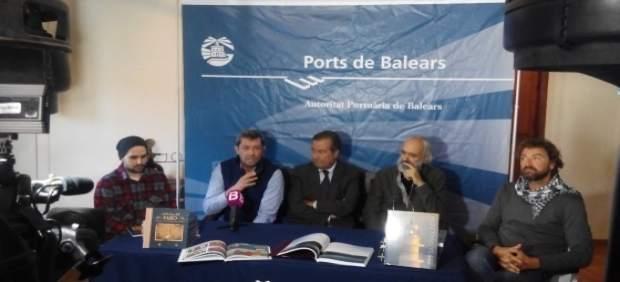 Presentación de las dos obras editadas por la Autoridad Portuaria de Baleares
