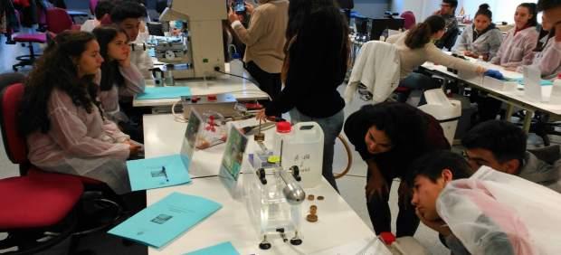 Taller enmarcado en la XVII Semana de la Ciencia.