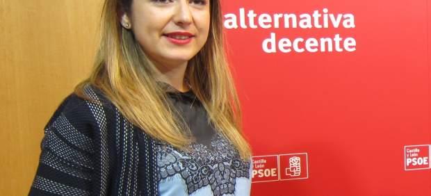 La alcaldesa de Miranda de Ebro (Burgos), Aitana Hernando