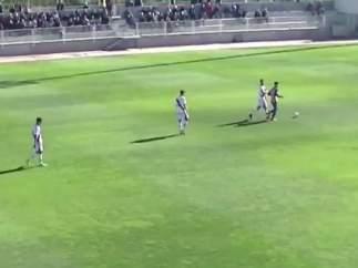 Gol de Los Yébenes al Rayo B