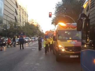 Atropello en Madrid
