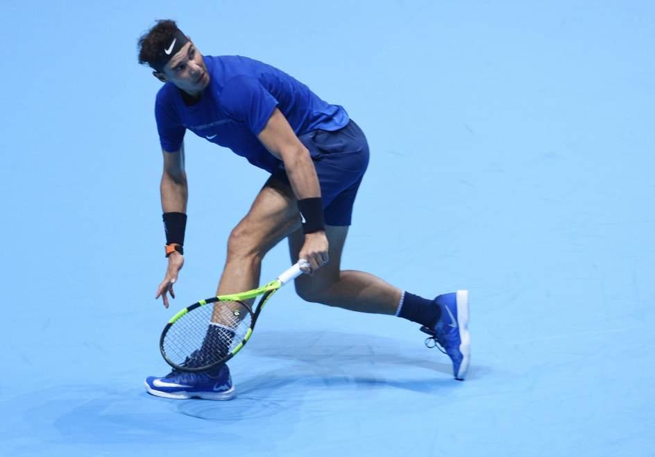 Rafa Nadal cae en un durísimo partido ante Goffin en su estreno en la Copa Masters