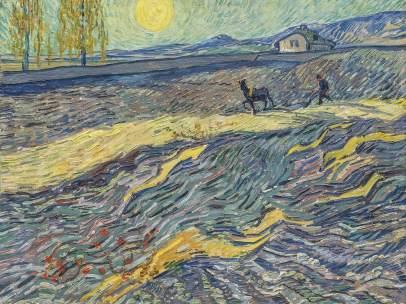 'Labourer dans un champ', de Vincent Van Gogh