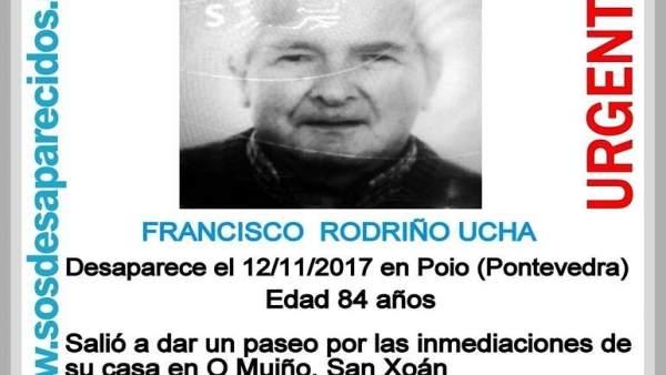 Anciano desaparecido en Poio