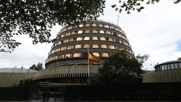 El TC anul·la la llei valenciana que permet revocar el nomenament de senadors