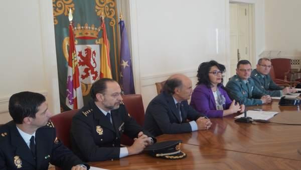 Reunión en la Subdelegación de León.