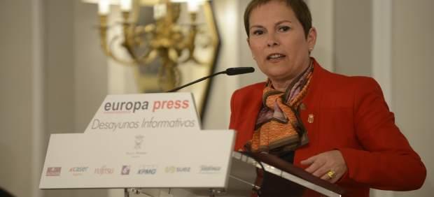 Selección De Fotos Del Desayuno Informativo Con Uxue Barkos Berruezo, Presidenta