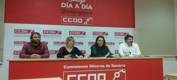 Rueda de prensa CCOO sobre los despidos anunciados en Simens Gamesa