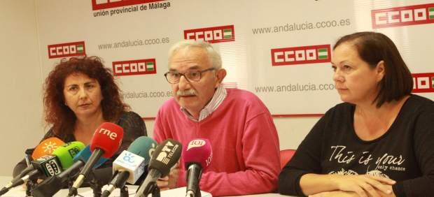 CCOO Félix Martín Gloria Pérez Virginia Vázquez