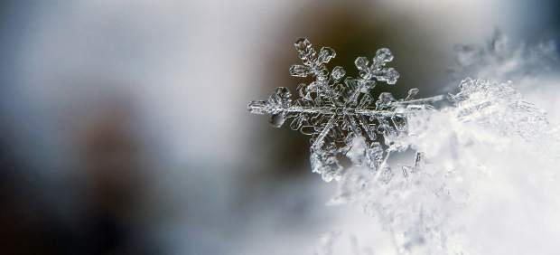 Agua congelada
