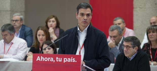 El primer secretario del PSOE, Pedro Sánchez, en el Comité Federal del 11 de noviembre.