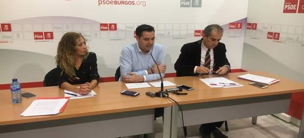 Virginia Jiménez, Daniel de la Rosa y Luis Briones.