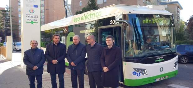 Presentación del sistema de carga rápida para los buses de la línea 7