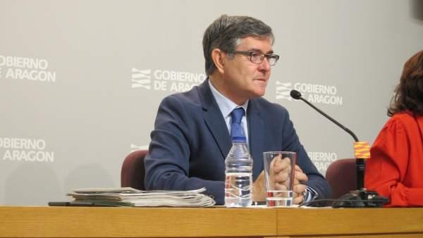 Vicente Guillén, consejero de Presidencia de Aragón