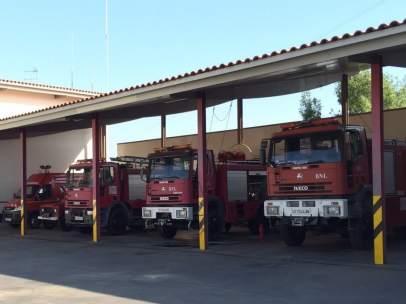 Vehículos del Consorcio de Bomberos de Córdoba