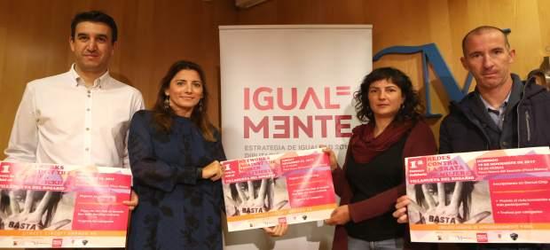 Presentacion proyecto contra la trata en Diputación