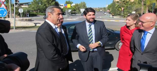 El jefe del Ejecutivo regional, Fernando López Miras, este martes
