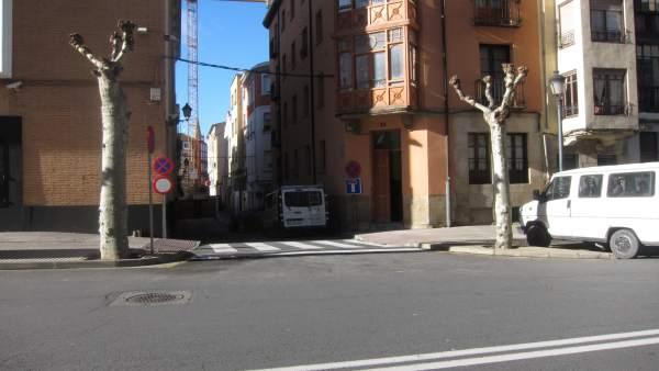 Calle del barrio de La Villanueva