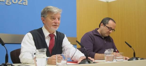 Santisteve y Cubero, este martes en rueda de prensa en el Ayuntamiento