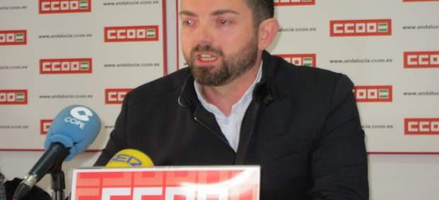 Francisco Cantero, Secretario General De CCOO En Jaén