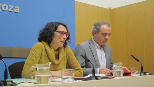 Elena Giner, en rueda de prensa este martes en el Ayuntamiento