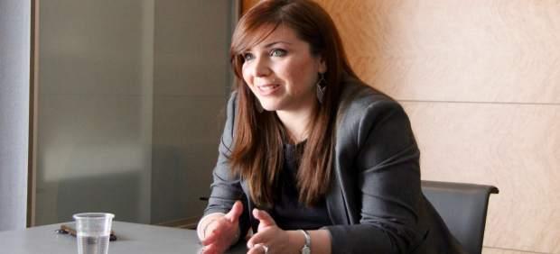 La portavoz de Cs en las Corts, Mari Carmen Sánchez
