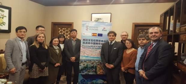 Misión en China de la Agència Valenciana de Turisme