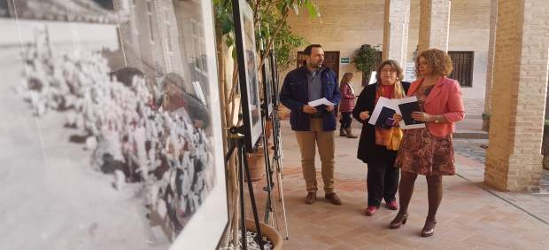 Exposición en el palacio de los Marqueses de La Algaba.