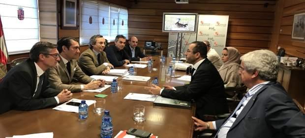 Reunión entre representantes de la Consejería y del Emirato de Abu-Dhabi