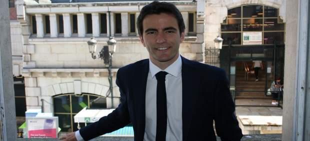 Pedro Casares, portavoz PSOE Santander